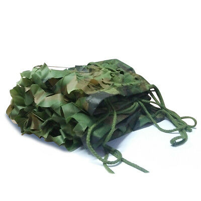 Woodland Camouflage Netting Military Army Camo Hunting Shooting Hide Cover Net 11