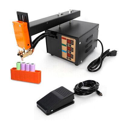 Handheld Battery Pack Spot Welder 3kw Pulse Adjustable Welder Led Light NEW 2