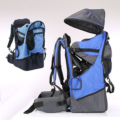 2842d5511a3 ... Baby toddler Hiking Carrier Backpack w  Raincover Child Kid Sun canopy  Shield A+ 4