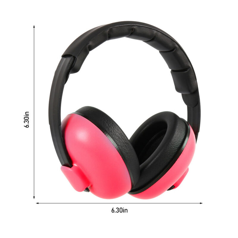 Kids Baby Ear Defenders Newborn Childrens Muffs Noise Reduction Protectors Child 12