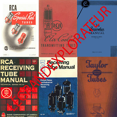 amperex eimmac philips raytheon rca sylvania vacuum tubes book s rh picclick com RCA Home Theater Owners Manual RCA 5 Disc Player Manual
