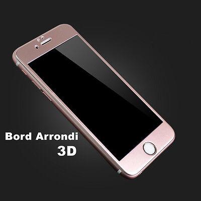 iPhone 8/7/6S/6 VITRE PROTECTION VERRE TREMPE 3D TRANSPARENT FILM ECRAN INTÉGRAL 4