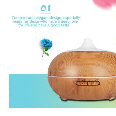 500ml Essential Oil Aroma Diffuser LED Ultrasonic Air Mist Aromatherapy AU Plug 3