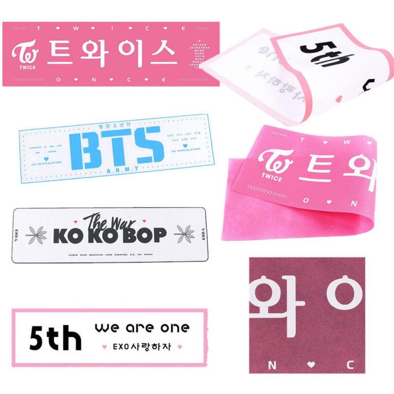 10X KPOP BTS Banner Suga Jimin V Slogan Concert Streamer JUNG KOOK J-hope  JIN
