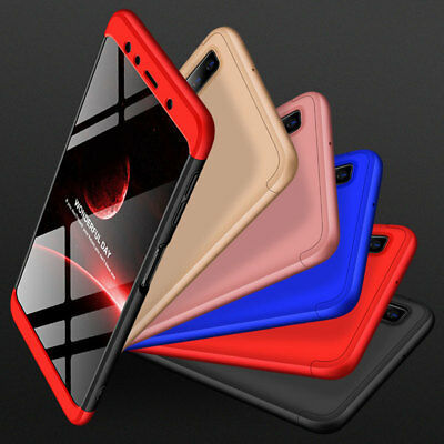For Samsung Galaxy A7 2018/A750 J4 J6 Plus Case 360° Full Protective Armor Cover 8