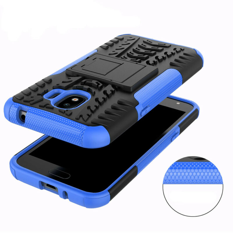 For Samsung Galaxy J2 Pro 2018 Hybrid Armor Case Shockproof Hard Cover Phone 11