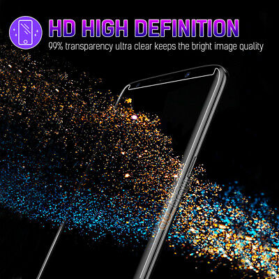 Samsung Galaxy S10 S9 S8 Plus S10e Note 9 8 Full Tempered Glass Screen Protector 2