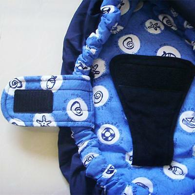 New Baby Infant Newborn Adjustable Carrier Sling Wrap Rider Backpack Pouch Ring 6
