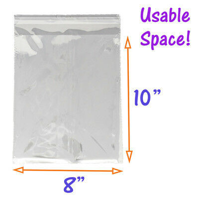 5 Sizes Crystal Clear Self Seal Transparent Plastic Cellophane Poly OPP Bags NEW 8