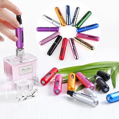 Mini Perfume Atomiser Bottle Aftershave Atomizer 5ml Pump Travel Refillable UK 3