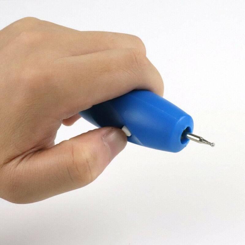 Engraving Electric Carving Craft Pen Handheld Kit For Etching Glass Wood Metal 9
