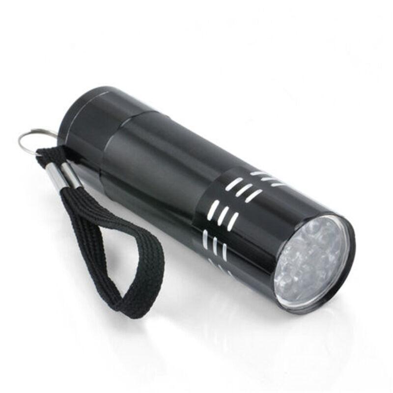 395/365 nM UV Ultra Violet LED Flashlight Blacklight Torch Light Inspection Lamp 9