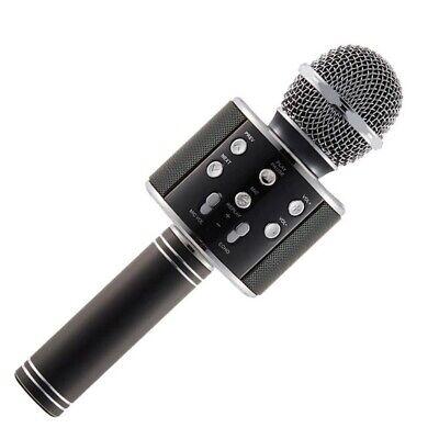 Microfono Wireless Con Altoparlante Cassa Integrata Bluetooth Portatile Karaoke 3