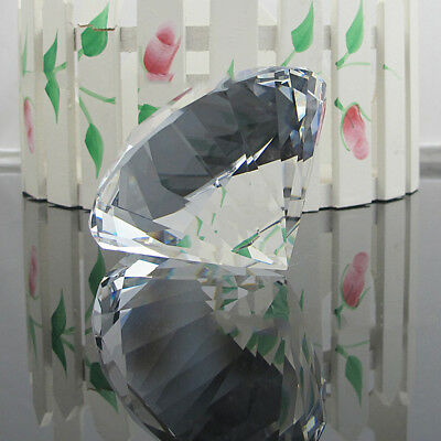 NEW Clear Glass Crystal Diamond Shape Jewel Wedding Party Table Confetti 6-100mm 7