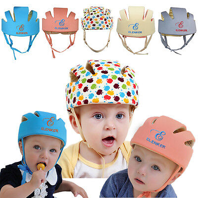 Adjustable Baby Toddler Safety Helmet Headguard Cap Protective Harnesses Hat Kid 2