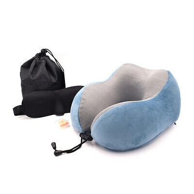 Travel U Shaped Neck Pillow Support Head Rest Cushion Sleeping Pad Memory Foam 6