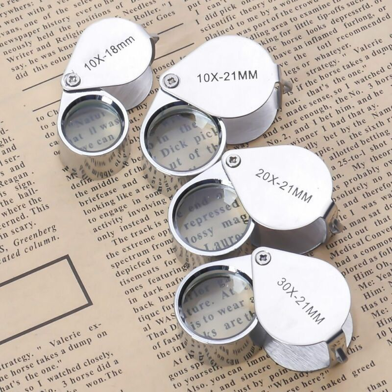 Bausch /& Lomb Professional Loupe Triplet 14X Magnifier Gold Jeweler Coin Diamond