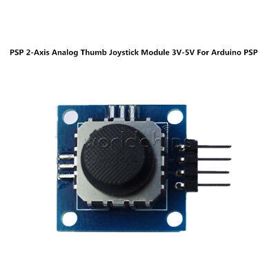 New 3V-5V PSP 2-Axis Analog Thumb GAME Joystick Module For arduino PSP 4