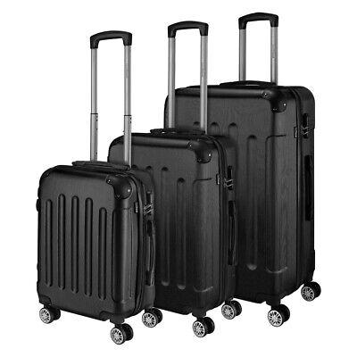 Go2Travel Hartschalenkoffer Reisekoffer Trolley Bordgepäck Kofferset 🧳 2