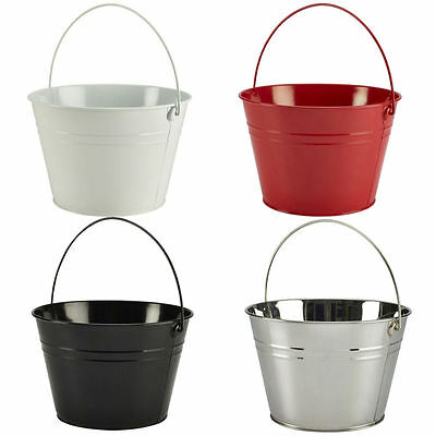 Large Stainless Steel Serving Ice Bucket 6 Litres - Beer Botte Bowl Cooler Party