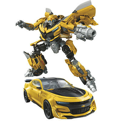 Transformers Hasbro MV5 Last Knight Premier Ed Deluxe W3 # Bumblebee Blaster