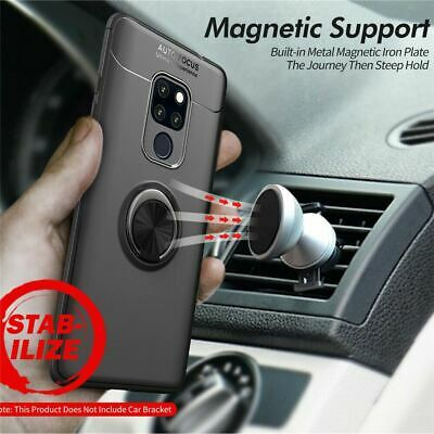 Samsung Galaxy S10 Plus S10E Luxury Magnetic 360 Ring Holder Phone Case Cover 5