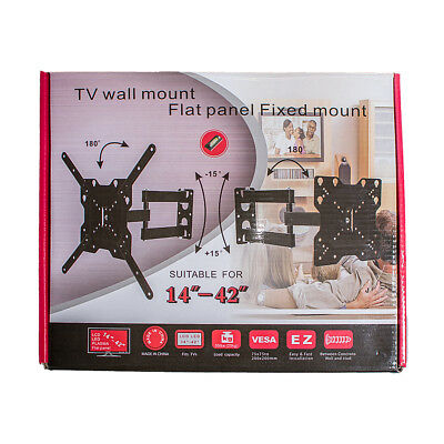 "Soporte basculante LCD LED Pared Universal TV 14 a 42 "" Entrega 48/72 H. a4072 3"