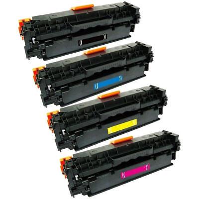 4PK Combo Set Toner Cartridges for Canon 131 Black, Cyan, Magenta, Yellow 2