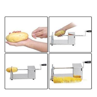 Spiral Schneider Potato Slicer Twister Schälmaschine Kartoffelschälmaschine