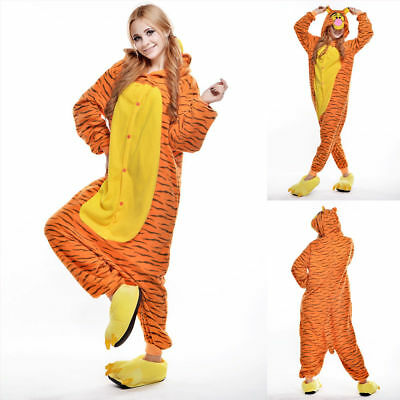 Unisex Adult Winnie The Pooh Flannel Onesie11 Cosplay Costume Kigurumi Pajamas* 3