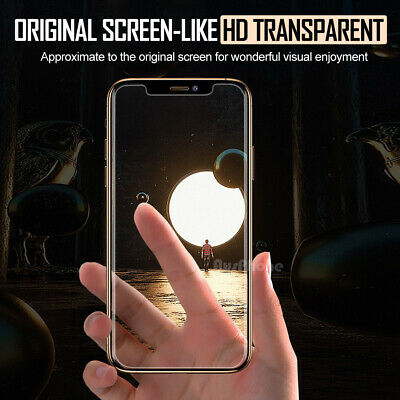 Apple iPhone XS Max XR 8 7 NUGLAS FRONT AND BACK Tempered Glass Screen Protector 2