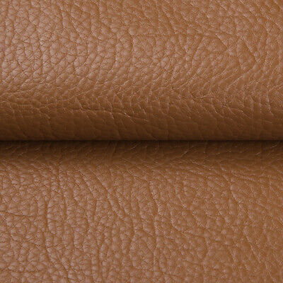 """Vinyl Faux Leather Fabric Litchi Pleather Upholstery Fabric 54"""" Wide By the Yard 3"""