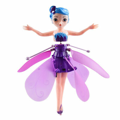 Flying Fairy Princess Dolls Magic Infrared Induction Control Girl Toy Best Gift 6