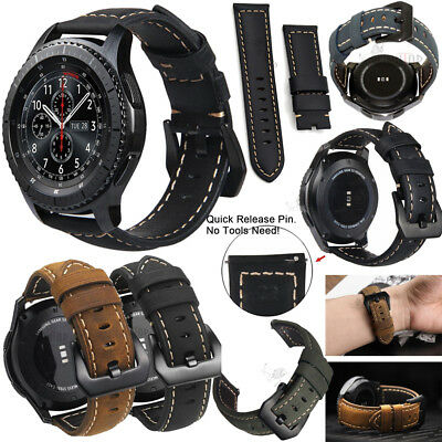22MM Replacement Leather/Steel/Nylon Wrist Watch Band Strap For Huawei watch GT 10
