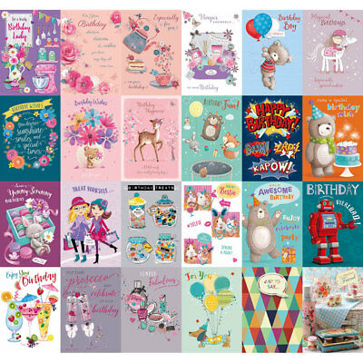 WHOLESALE GREETINGS & BIRTHDAY CARDS X 120 £11.99 ALL NEW with ENVELOPES JOB lot 2