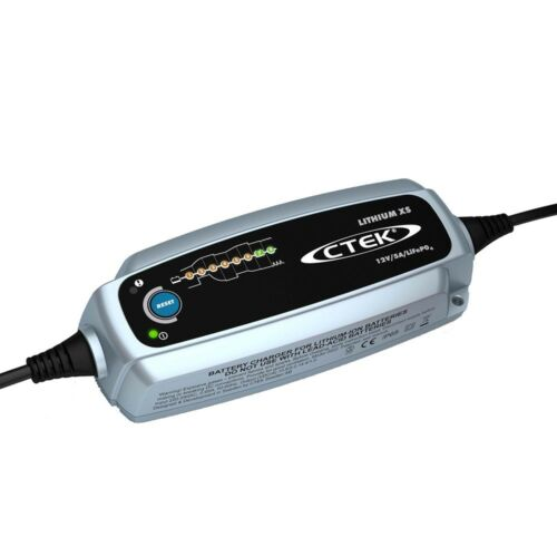 CTEK Lithium XS 12v 5A Smart Battery Charger LiFePO4 Batteries 5 Year Warranty 2