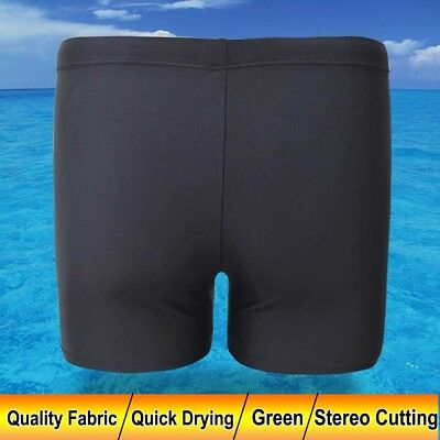 Men's Boy Swim Swimming Trunks Boxer Shorts Jammers Shark Skin Racing Pant AU
