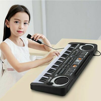 61 Keys Electronic Music Keyboard Organ Piano Set With Mini Microphone Kids Gift 9