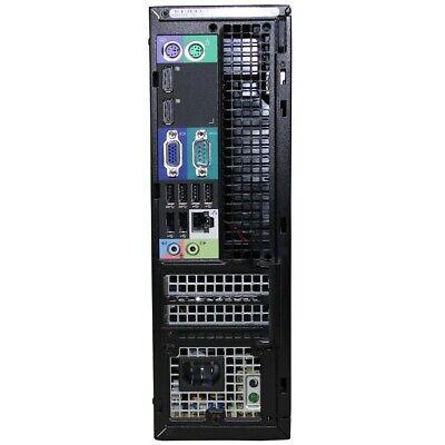 Dell Optiplex 9020 SFF i5-4570 QC 3.20Ghz 8GB Ram 128Gb SSD Win 10 Desktop PC 4