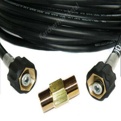 15m Pipe Drain Sewer Cleaning Hose with 2Nozzles for Drainage-purge Channel Edge 3