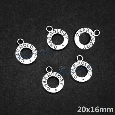 Wholesale Tibetan Silver Metal Charms Pendants Loose Spacer Beads Jewelry Making 11