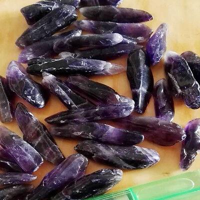 100g Amethyst Crystal Healing Orgone Quartz Clear Crystal Mineral Specimen