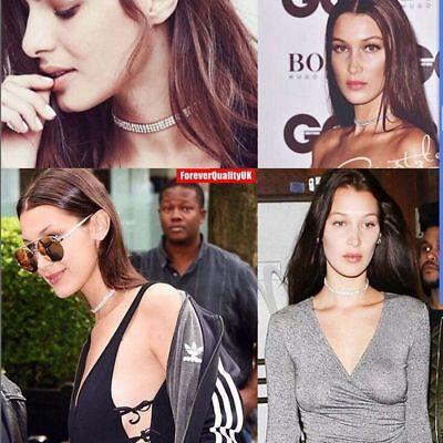 Fashion Women Full Diamond Crystal Rhinestone Choker Necklace Wedding Jewellery 7