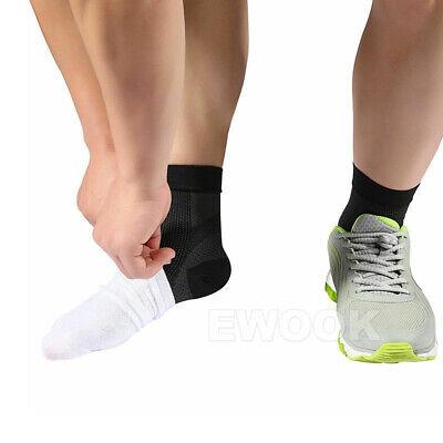 2 Pair Foot Sleeve Plantar Fasciitis Compression Socks Achy Swelling Heel Ankle 11