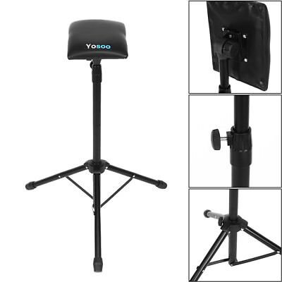 Adjustable Foldable Tattoo Tripod Stand For Arm Leg Rest Studio Chair Sponge Pad 6