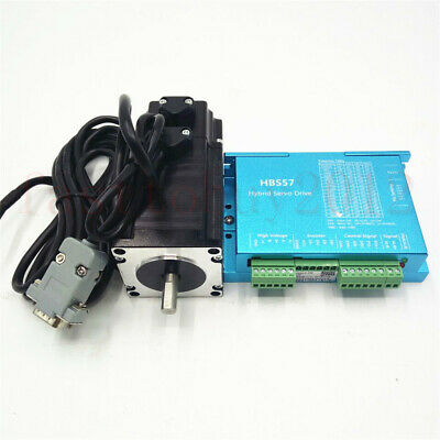 3NM Nema23 428Oz-in CNC Hybrid Servo Stepper Motor Drive DSP System Closed Loop 9