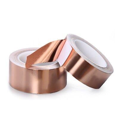 Copper Foil Shielding Tape Electric Guitar Bass 50mm x 2m Conductive Adhesive 6