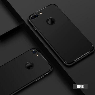 Coque Housse Hybride iPhone 8/7/6/6S/PLUS/X/XR/XS/Max/5/SE+ Film Verre Trempé 11