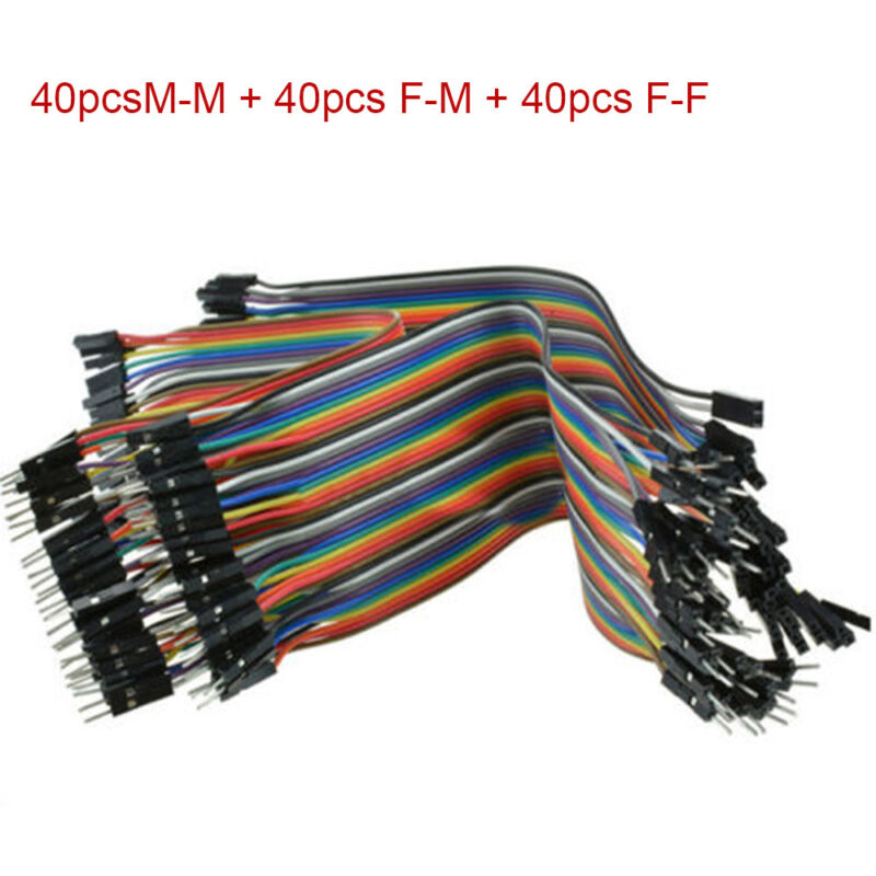 120pcs Dupont Wire Female to Female+Male to Male+Male to Female Jumper Cable Hot 2