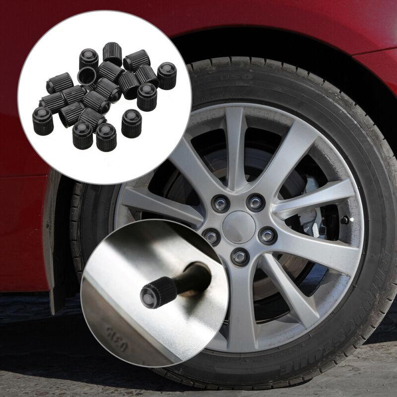20Pcs Car Truck Bicycle Motorcycle Plastic Wheel Tyre Tire Air Valve Stem Caps 4